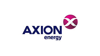 Logo de Axion Energy.